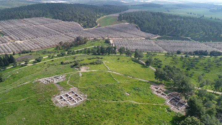 Restos de un poblado donde David se refugió mientras huía del rey Saul