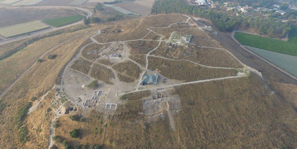 Vista aérea de Tel Lachish