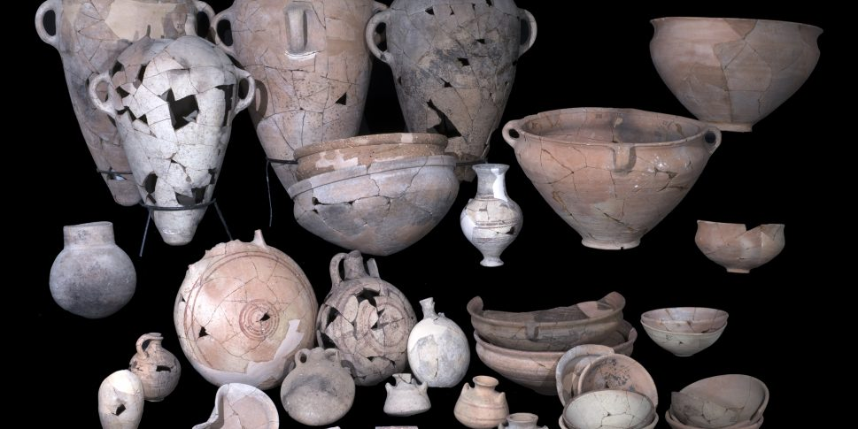 Pottery uncovered in Temple