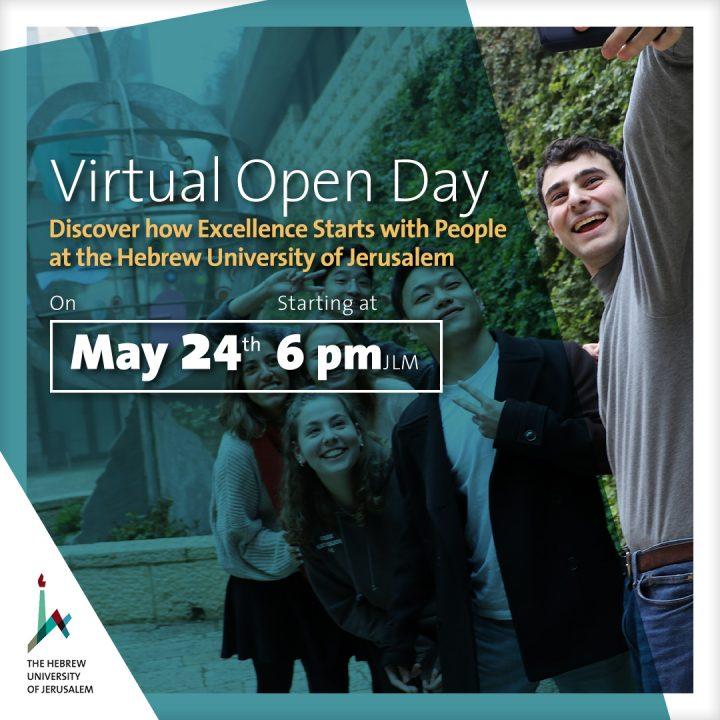 Virtual Open Day de la Universidad Hebrea