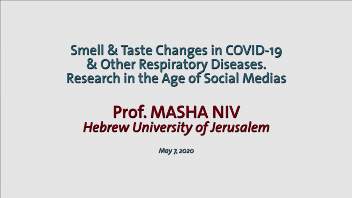 Smell & Taste Changes in COVID 19 & Other Respiratory Diseases – Research in the Age of Social Media