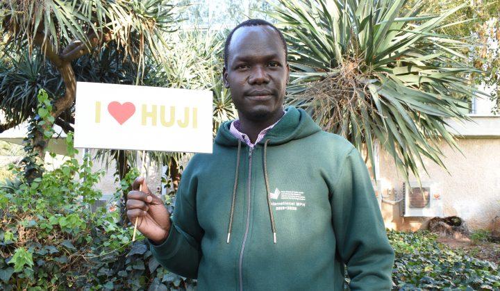 Okot Samuel Obonyo, estudiante de Uganda