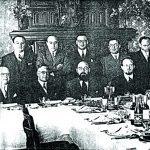 24 de julio de 1938: grupo fundador de Amigos Argentinos de la Universidad Hebrea de Jerusalem