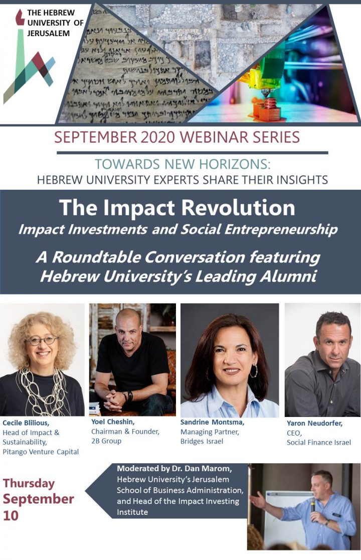 VIDEO: The Impact Revolution: Impact Investments and Social Entrepreneurship