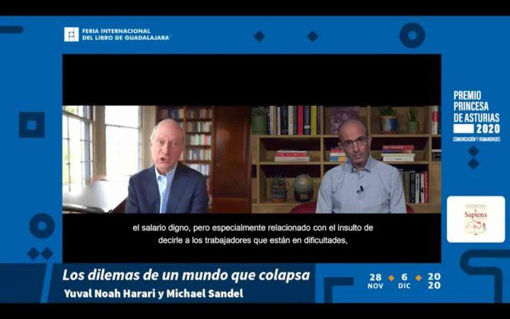 """""""Los populistas de hoy tratan de fragmentar a las naciones en tribus hostiles"""": Yuval Noah Harari"""