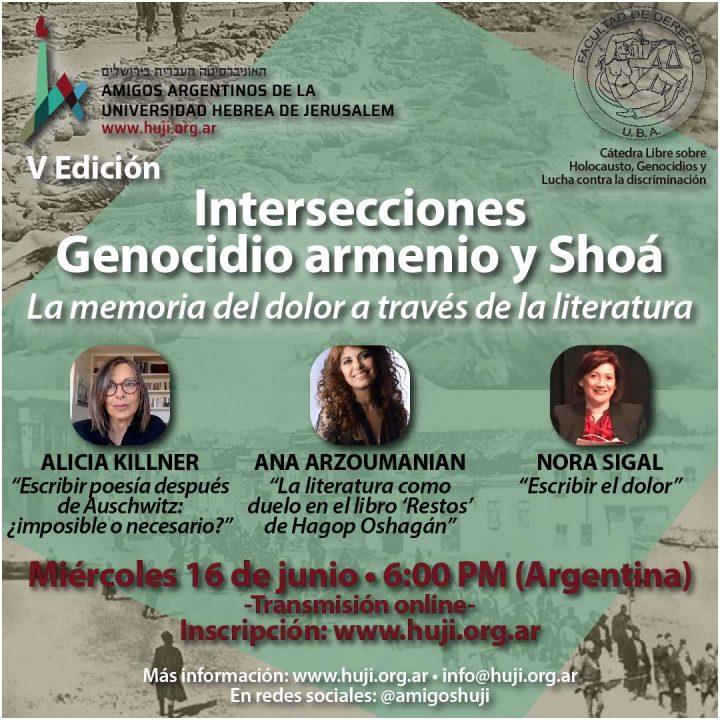 VIDEO: Intersecciones: genocidio armenio y Shoá