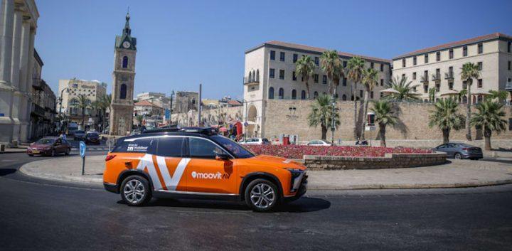 Empresa israelí presentó taxis eléctricos sin conductor